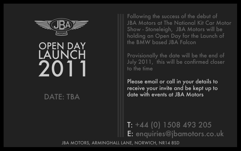 jba motors open day